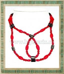 Red Magnetic Necklace-Bracelet