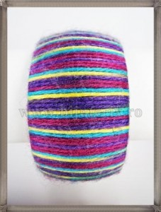 Bratara Purple Stripes