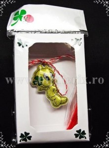 Martisor Tweety trifoi - complet cutie