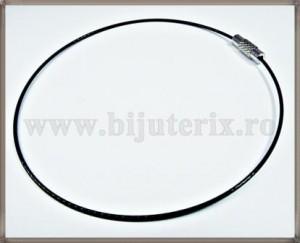 Baza Bratara - sarma siliconata cu memorie negru