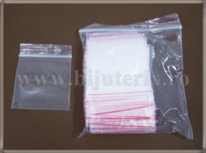 Pungi plastic ziplock 6x8cm - 100buc
