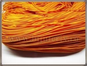 Snur elastic 1mm - portocaliu -5m