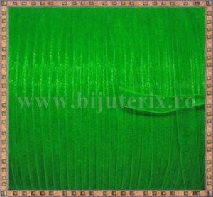 Organza 6mm x 5m -  verde