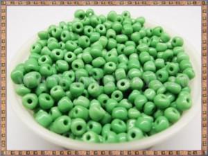 Margele nisip 4mm - verde (50gr)