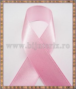 Panglica satin roz 2cm - 1m