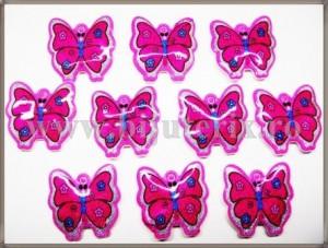Martisor Fluturas roz 10buc