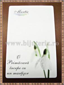 Carton martisor Martie 9x5,5cm - model 5 (50buc)