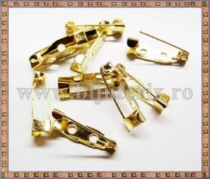 Ace de brosa 2cm (10buc) - auriu