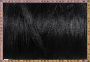 Organza 10mm x 5m - negru