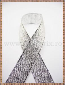 Panglica argintie 1,5cm - 1m