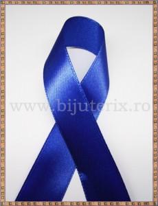 Panglica satin albastru 2cm - 1m