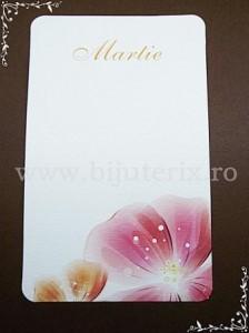 Carton martisor Martie 9x5,5cm - model 13 (50buc)