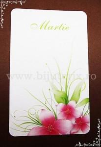 Carton martisor Martie 9x5,5cm - model 16 (50buc)