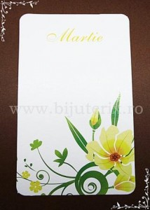 Carton martisor Martie 9x5,5cm - model 11 (50buc)