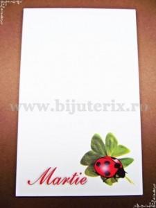 Carton martisor Martie 9x5,5cm - model 18 (50buc)