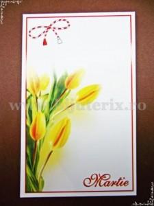 Carton martisor Martie 9x5,5cm - model 20 (50buc)