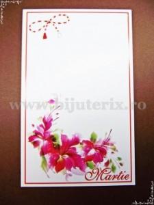 Carton martisor Martie 9x5,5cm - model 21 (50buc)