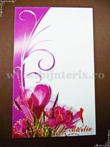 Carton martisor Martie 9x5,5cm - model 24 (50buc)