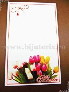 Carton martisor Martie 9x5,5cm - model 25 (50buc)