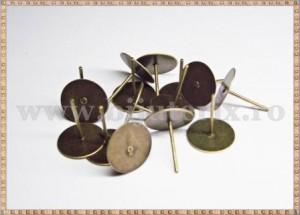 Baza cercei cu disc 10mm - patinat (10 buc)