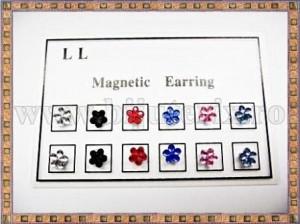 Cercei magnetici Floricica - 6 perechi