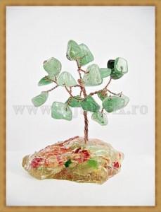 Copacel Feng shui - Jad verde 8 cm