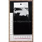Pungi celofan 16x8cm (50buc) - dunga alba