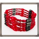 Red Magnetic Necklace-Bracelet