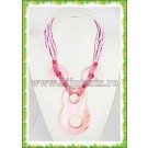 Pink 8 Necklace