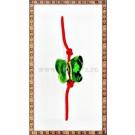 Bratara Lucky charm Fluturas cristal Swarovski 10mm verde
