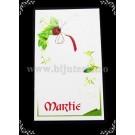 Carton martisor Martie 9 x 5,3 cm - gargarita - 10buc