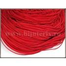 Snur elastic 1mm - rosu -10m