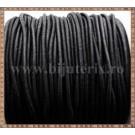Snur elastic 2mm - negru -1m