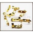 Ace de brosa 1,5cm (10buc) - auriu