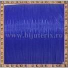 Organza 6mm x 5m - albastru