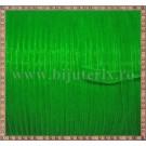 Organza 6mm x 1m -  verde