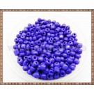 Margele nisip 4mm - albastru inchis (100gr)