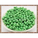 Margele nisip 4mm - verde (50gr)