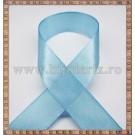 Panglica satin bleu 1,5cm - 1m