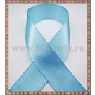 Panglica satin bleu 2cm - 1m