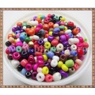 Margele nisip 4mm - mix multicolor (50gr)