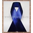 Panglica satin albastru inchis 1,5cm - 1m