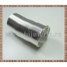 Baza Inel - sarma cu memorie argintiu - 2cm (10spire)