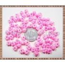 Noduri decorative- snur roz - 6-7mm (5buc)
