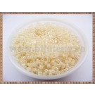 Margele tub 2-3mm - bej deschis perlat (50gr)