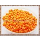 Margele nisip 4mm - portocaliu deschis(100gr)