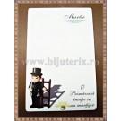 Carton martisor Martie 9x5,5cm - model 6 (50buc)