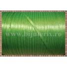 Panglica satin verde deschis 0,3cm - 1m