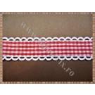 Panglica material textil 2cm - 1m model 1