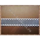Panglica material textil 2cm - 1m model 4